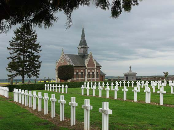 église de la nécropole nationale de Méry-la-Bataille